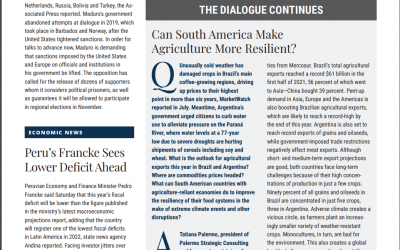 Can South America Make Agriculture More Resilient?